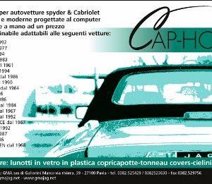COPRICAPOTTE JAGUAR E TYPE V12 PVC