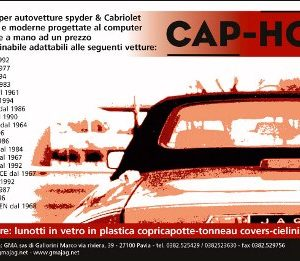 CAPOTTE SAAB 93 MOHAIR