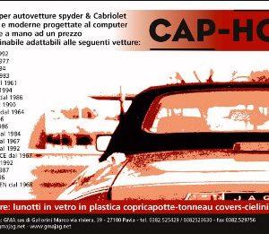 CAPOTTE ALFA ROMEO SPIDER COMPLETA DI LUNOTTO