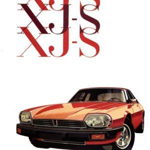 MANUALE USO E MANUTENZIONE XJS PRE 1981 IN INGLESE
