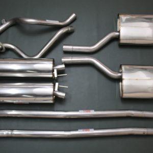 GRUPPO MARMITTE INOX JAGUAR XJS V12 SERIE 1