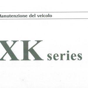 MANUALE USO E MANUTENZIONE XK8 RIPRODOTTO
