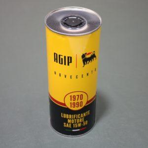 OLIO MOTORE AGIP 900 15W-50 X AUTO DAL 1970 AL 1990 LT 1