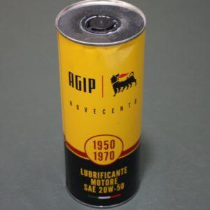 OLIO MOTORE AGIP 900 20W-50 X AUTO DAL 1950 AL 1970 LT 1