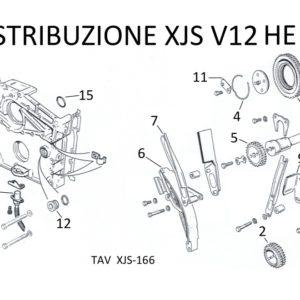 CATENA DISTRIBUZIONE XJS V12 HE