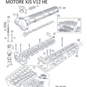 COLLARE PORTA PASTIGLIA PUNTERIE XJS V12 HE