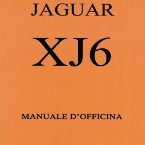 MANUALE D'OFFICINA IN ITALIANO XJ6 SERIE 1